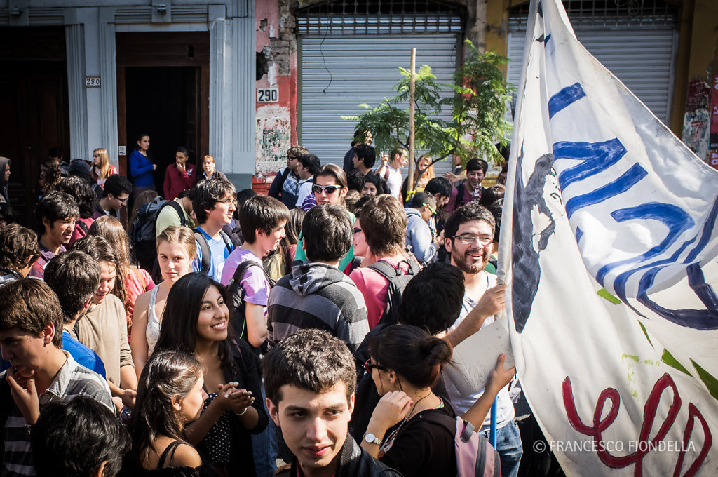 Students Protest in Chile