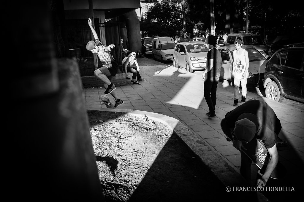 Skateboarders #3, Buenos Aires